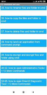 CMD 100+ Best Commands Pro for PC / Windows 7, 8, 10 / MAC Free