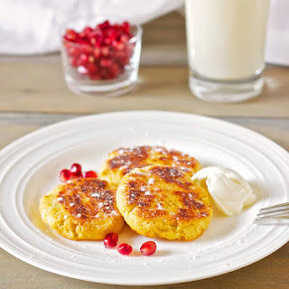 Syrniki or Farmers Cheese Pancakes Recipe