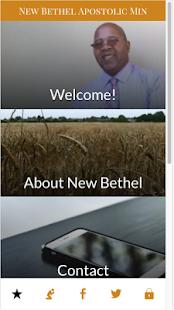 New Bethel Apostolic Ministry - náhled
