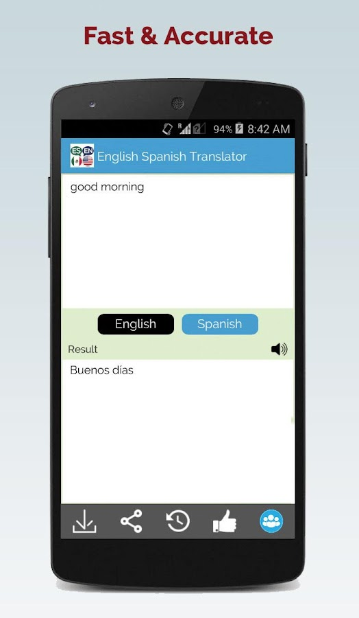 Spanish English Translator - Android Apps on Google PlaySpanish English Translator- screenshot