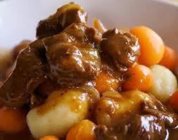 Paul Horning Stew Recipe