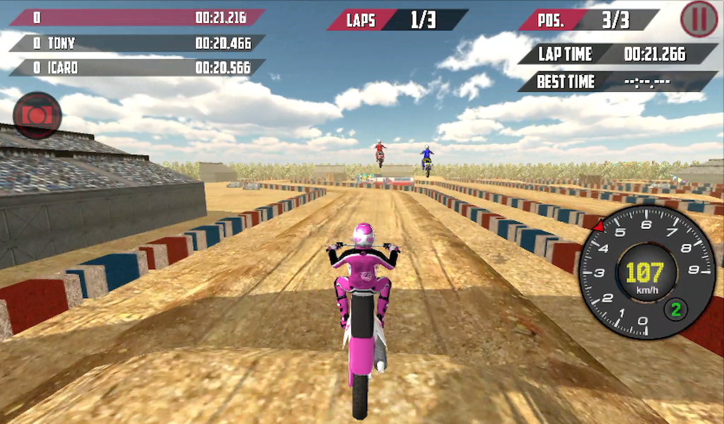 Online race free is an online motocross simulation game where each