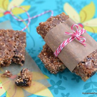 Quinoa Protein Power Bars