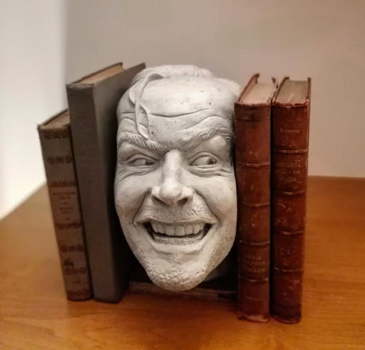 The Shining Jack Torrance Head Bookend: Here's Johnny!