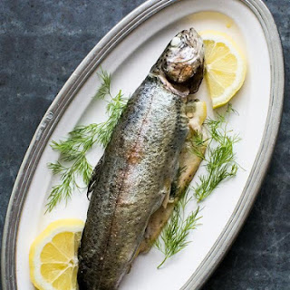 Grilled Trout with Dill and Lemon