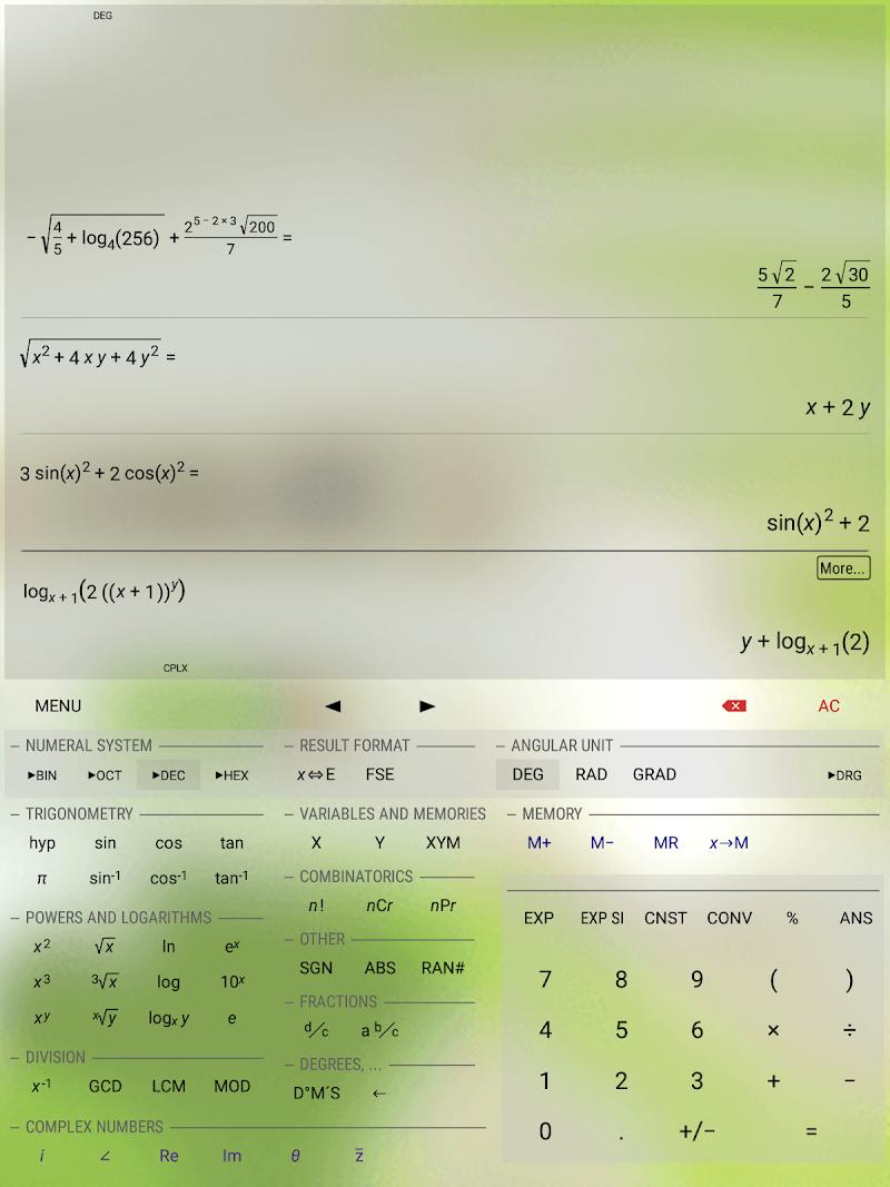HiPER Calc Pro Screenshot 12
