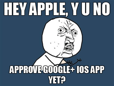 Photo: I'm on Android, but I do have an iPad hurry up already!