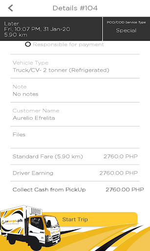 PAKARGO.PH Driver App screenshot 4