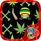 Ganja Joint GO Launcher Theme