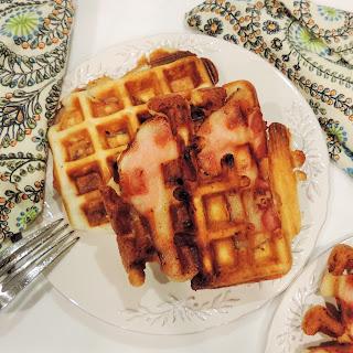 Bacon-Stuffed Waffles