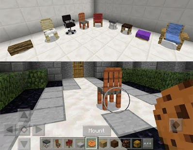 More Chairs for Minecraft - náhled