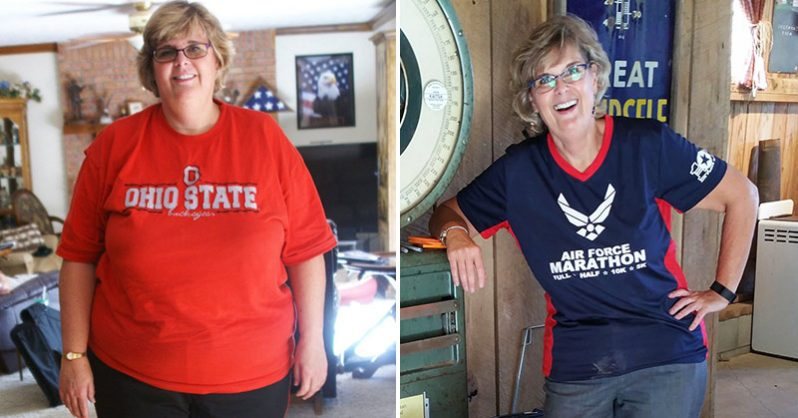 Susan's 137-Pound Weight Loss Came From Water, Aerobics, Walking, and This Diet