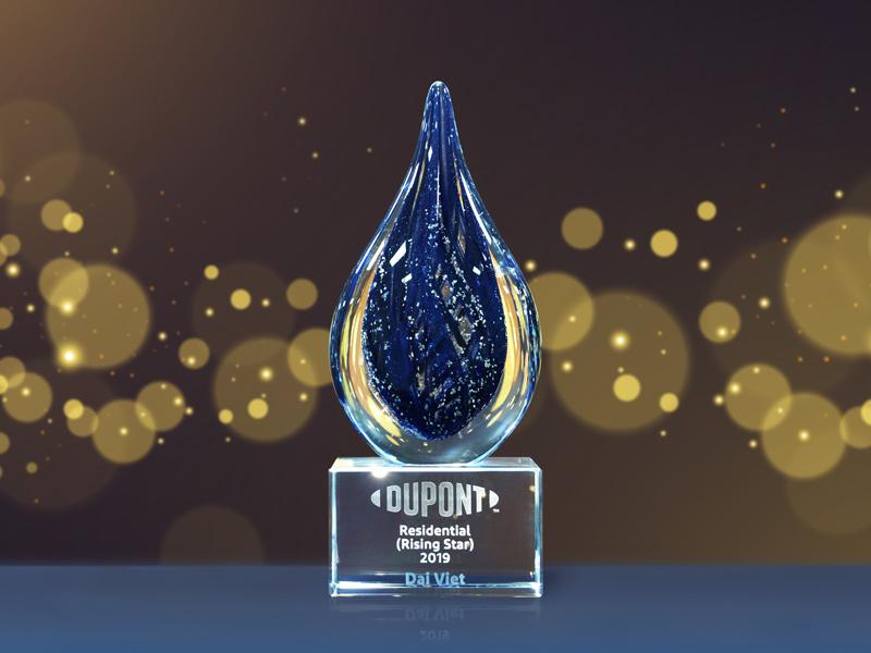 Giải thưởng Rising Star - Đối tác triển vọng của Dupont trao cho Đại Việt năm 2019