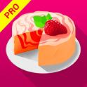 Yummy Cake Recipes Pro icon