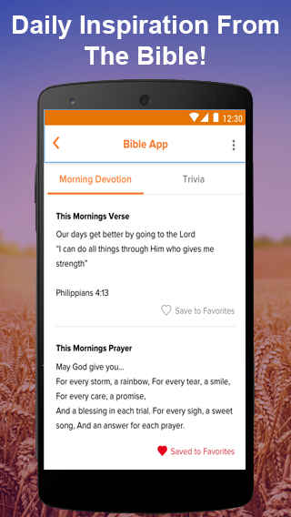 Bible App: Daily Bible Verses & Bible Caller ID- screenshot