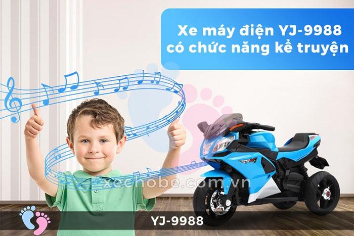 Xe mô tô điện trẻ em YJ-9988 1
