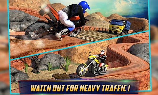 Crazy Offroad Hill Biker 3D screenshot 04