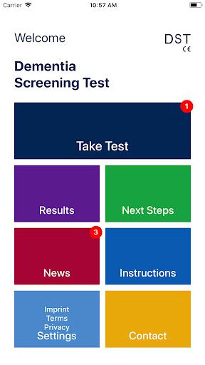 DST - Dementia Screening Test, Alzheimer Test screenshot 8