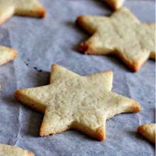 Coconut Flour Cut-Out Cookies {paleo + vegan option).