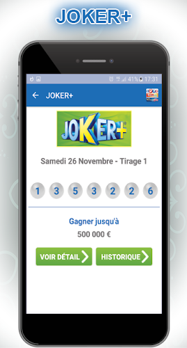 application loto fdj android