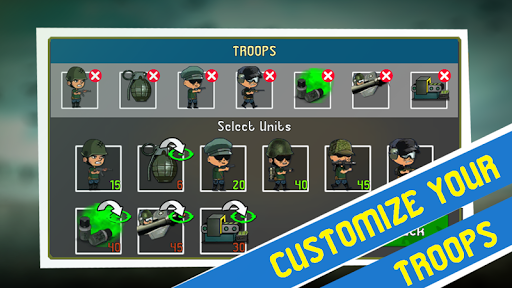 War Troops: Military Strategy Game for Free  screenshots 6