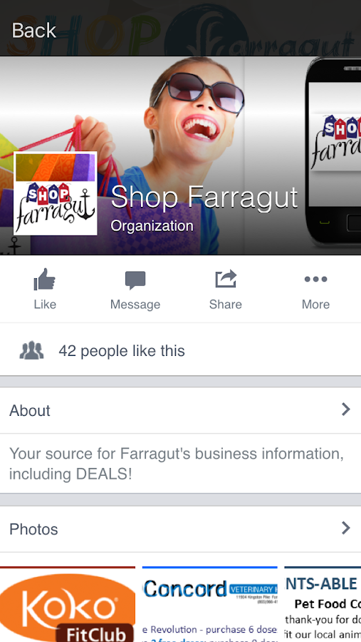 Shop Farragut- screenshot