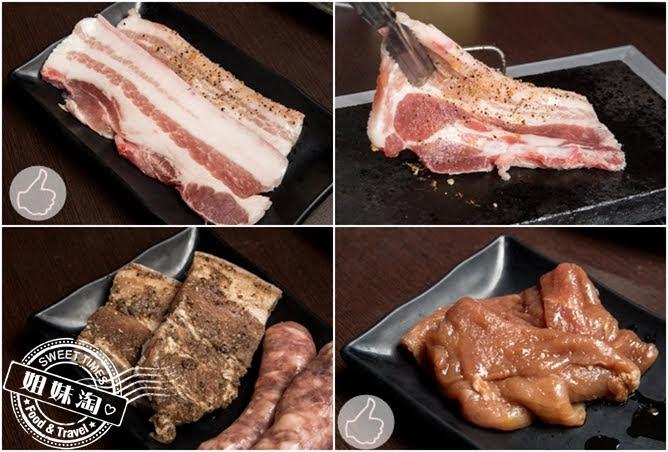 進吉泰國蝦海鮮炭烤吃到飽三層肉