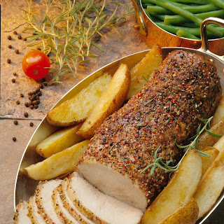 Roasted Peppered Pork Loin Recipe