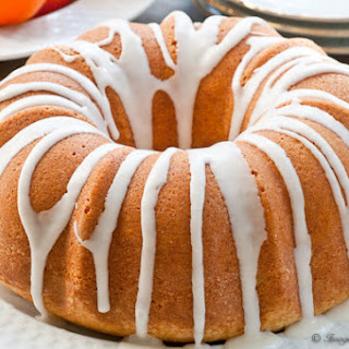 Clementine and Spiced Rum Bundt Cake