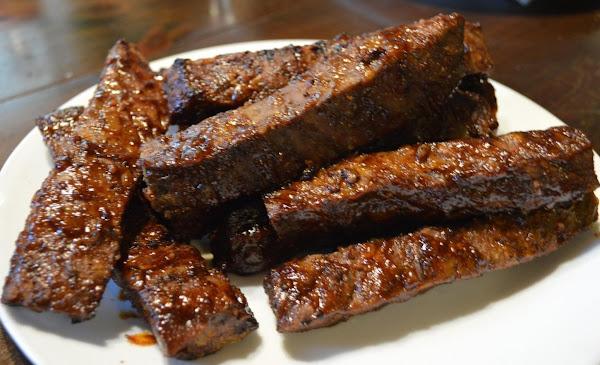 Chili Barbecued Ribs Recipe