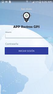 Rastreo GPS APP - náhled