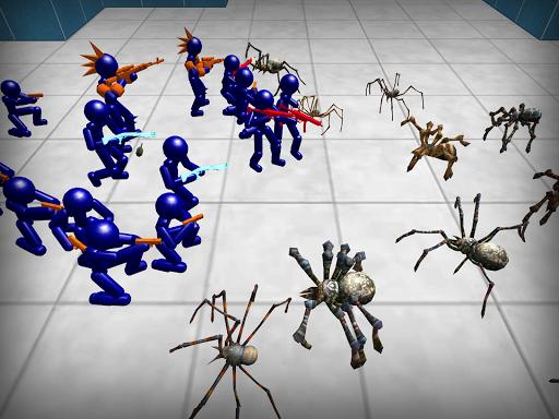Stickman Spiders Battle Simulator 1.01 screenshots 7