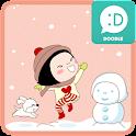 옥철이(즐거운겨울) 카카오톡 테마 icon