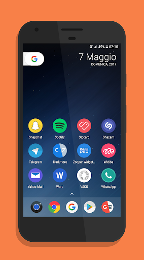 Flix Pixel - Icon Pack Aplicaciones para Android screenshot
