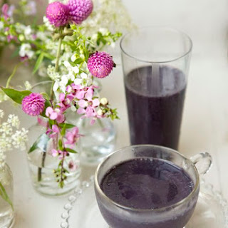 Wild Blueberry Protein Power Smoothie.