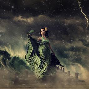 Storm Dancer..... by Rolando Eduard - Digital Art People