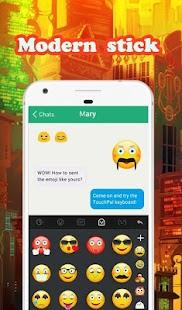 Modern Emoji Keyboard Sticker - náhled