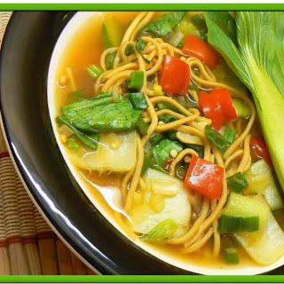 Pak Choi – Noodles Soup