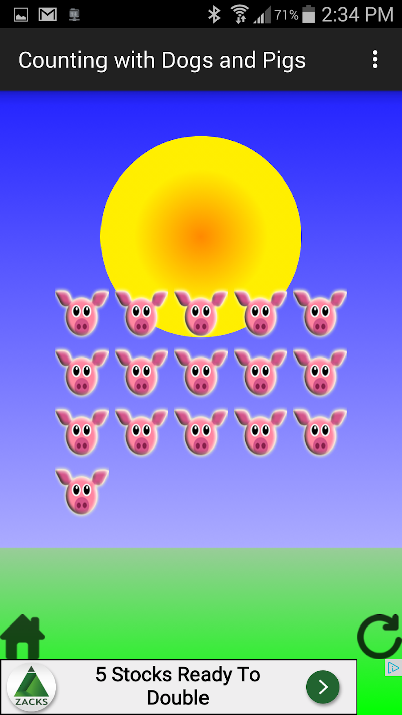 Скриншот Counting With Dogs And Pigs