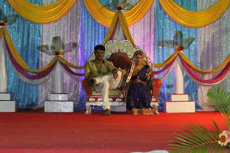 Photo: Small wedding in the countryside of Maharashtra. They are somewhat looking bored on their big day,  may be because of tension. 21st March updated http://jp.asksiddhi.in/daily_detail.php?id=245