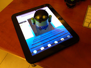 Photo: TouchPad : bientôt sur Android...