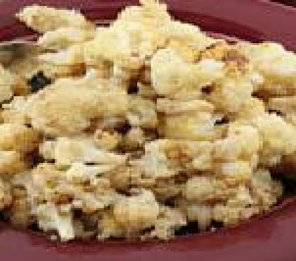 Roasted Nutmeg Cauliflower Recipe