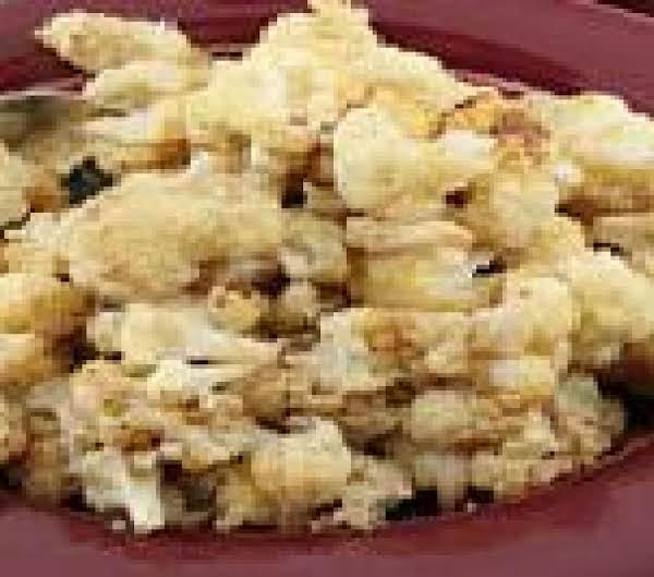 Roasted Nutmeg Cauliflower