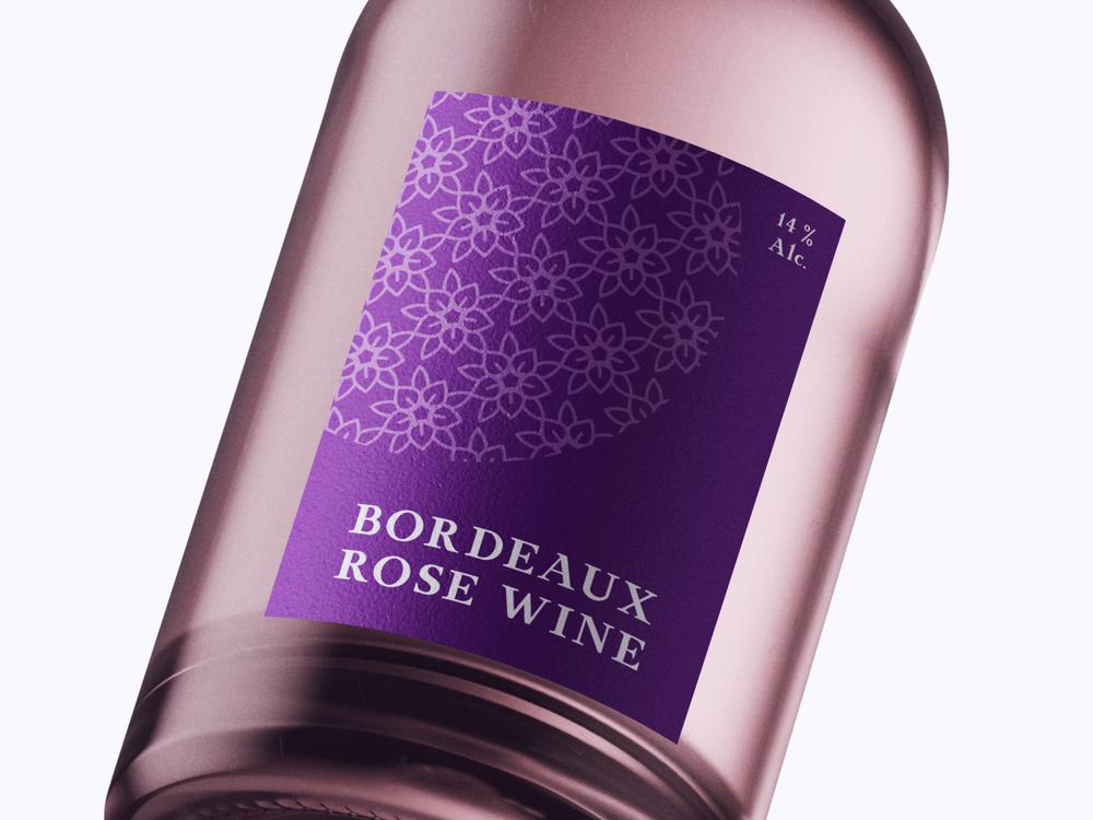 Bordeaux Rose Wine