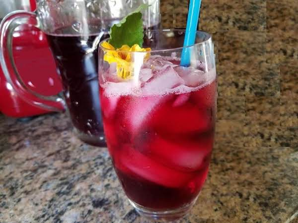 Agua De Jamaica. Diabetic