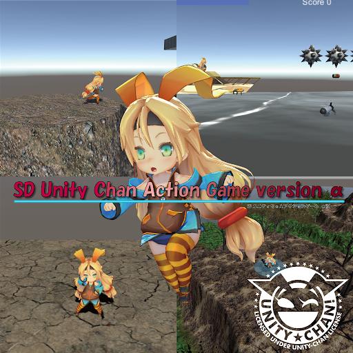 SD Unity ちゃん -Action Game-