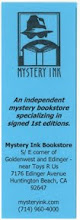 Photo: Mystery Ink Bookstore