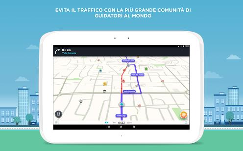 Waze - Navigazione GPS, Mappe & Traffico- miniatura screenshot