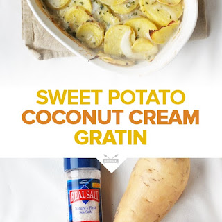 Sweet Potatoes Au Gratin