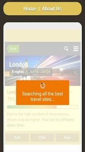 Travel Deals Finder- screenshot thumbnail